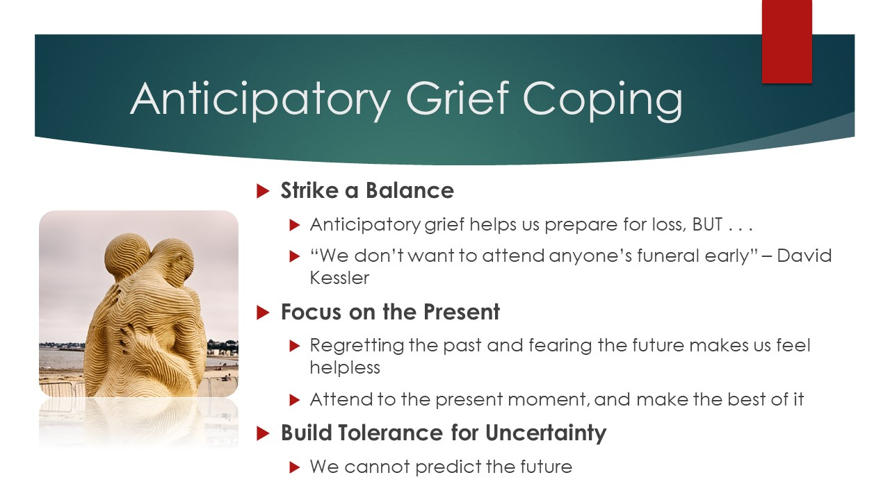 Anticipatory Grief Coping